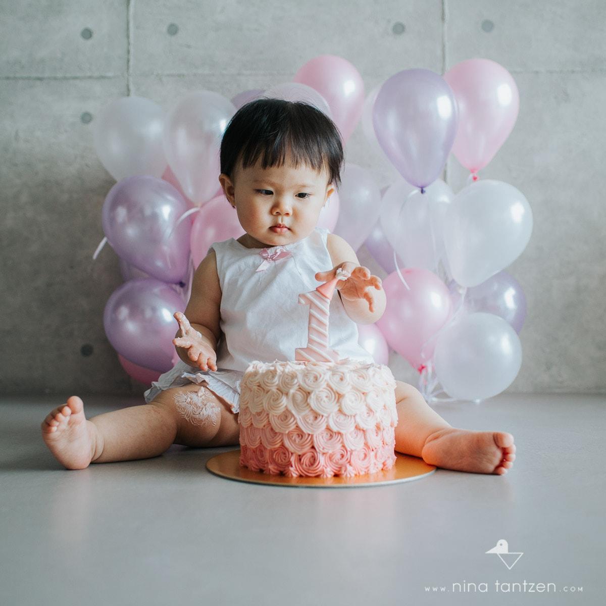 Baby Smash Cake Photography Singapore